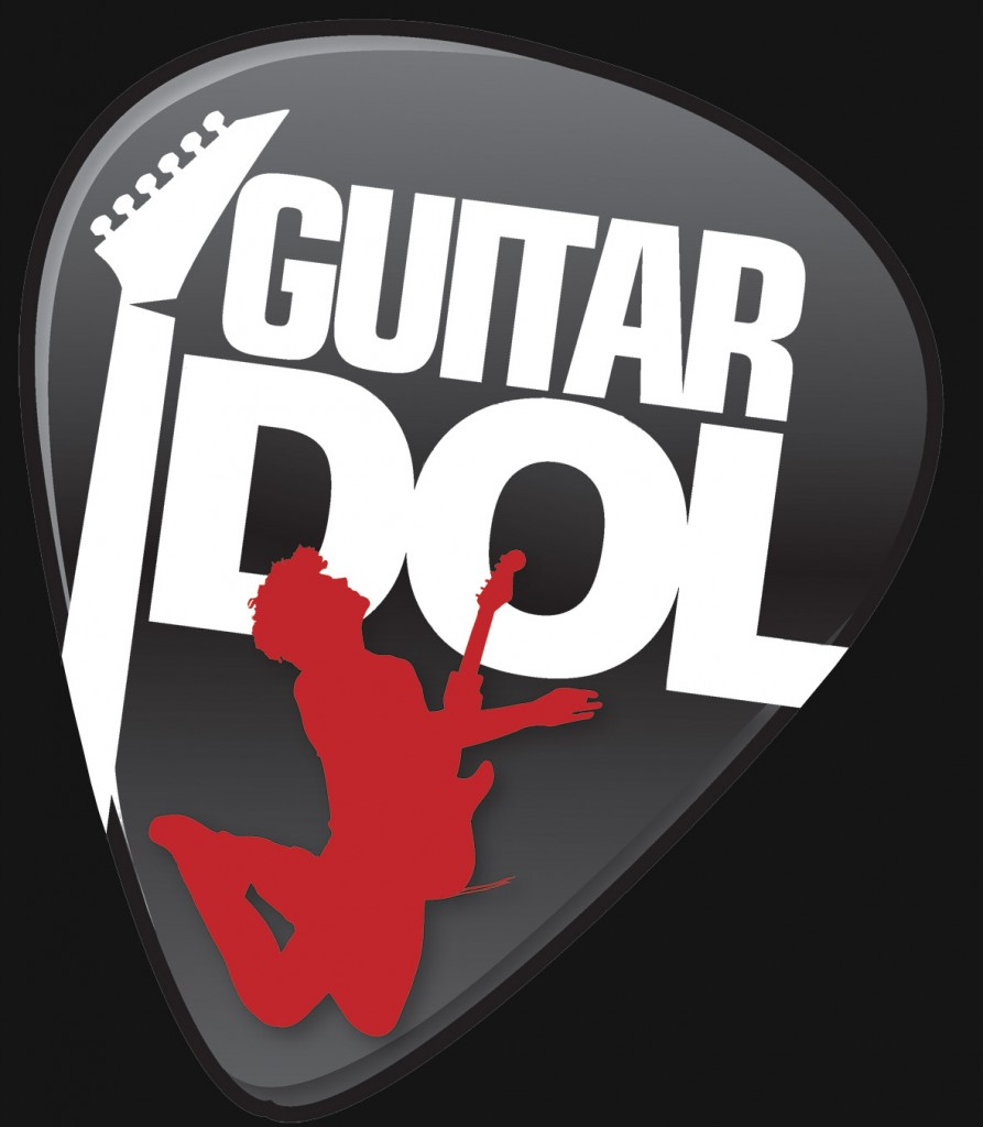 guitar idol logo black bg