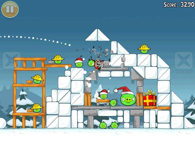 AngryBirds Xmas verzija